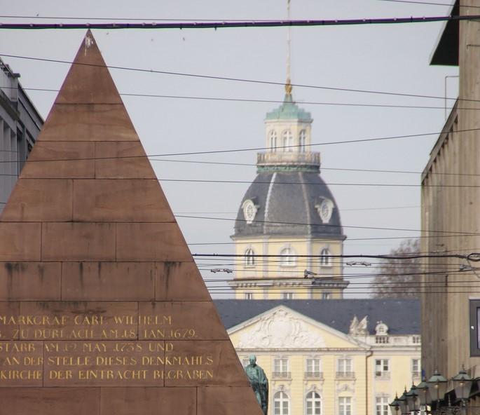 Orte der Kraft und Baumwesen in Karlsruhe